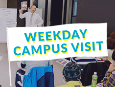 WEEKDAY CAMPUS VISIT